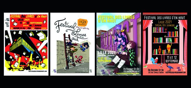 Livres d'En Haut : festival de BD et de Littérature jeunesse à Lille (2021)