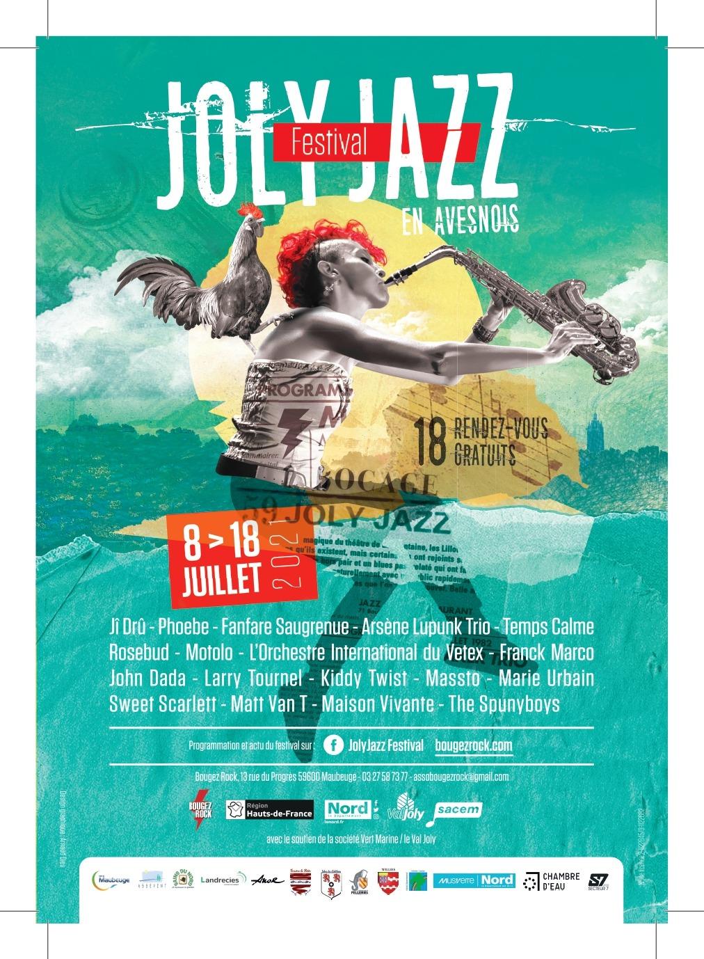Joly Jazz en Avesnois (2021) paar Bougez Rock