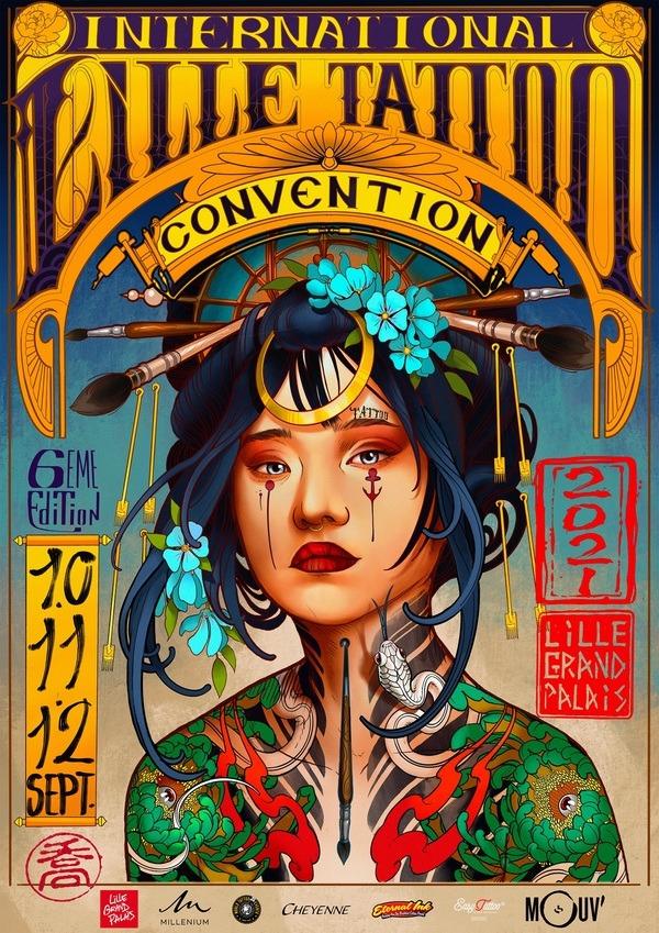 International Lille Tattoo 6e édition (2021)