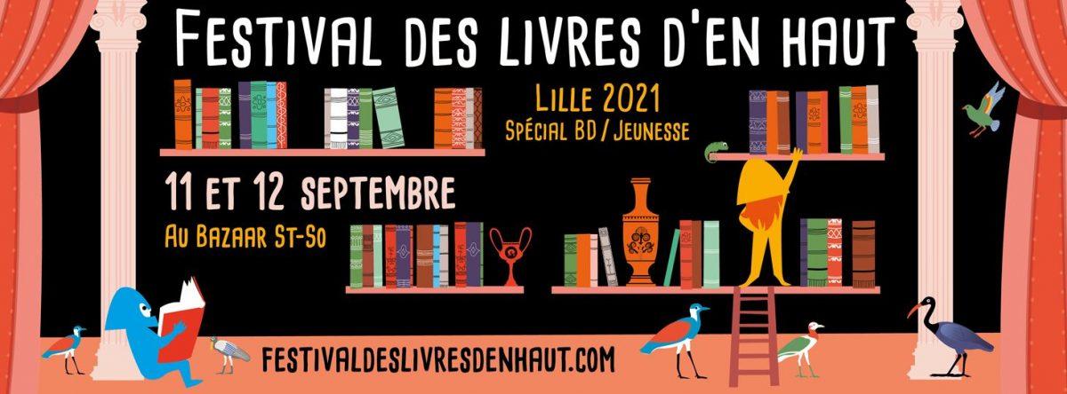 Livres d'en haut festival de BD et de Littérature jeunesse à Lille (2021)