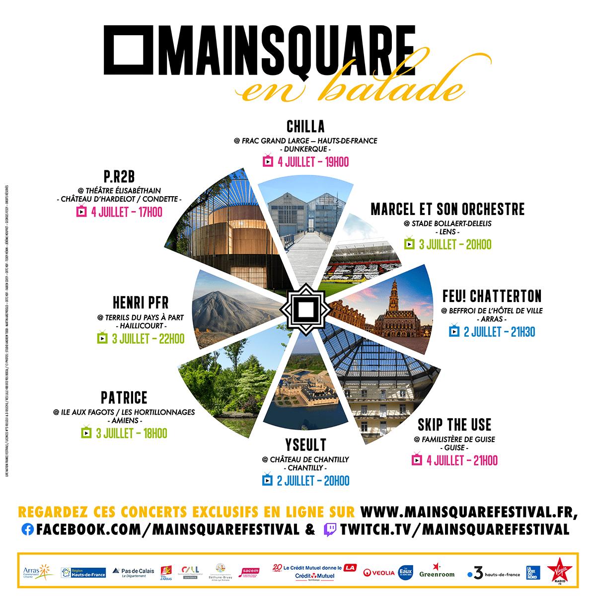 Main Square en balade arras