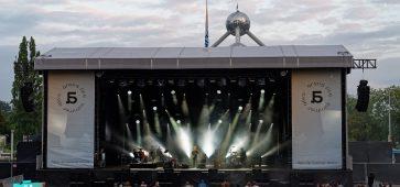 L'Arena5 : Hooverphonic, Jasper Steverlinck, K's Choice et Suarez © Bernard Rie