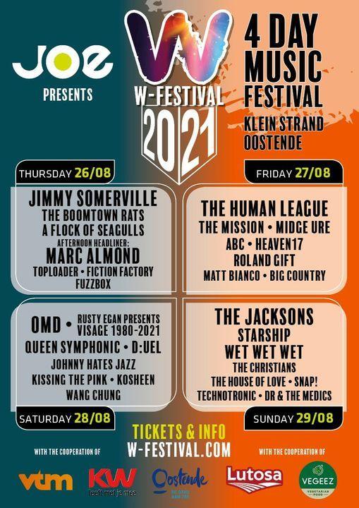 W-Festival (2021) : FESTIVAL DE MUSIQUE DE 5 JOURS