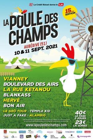 l'association l'Alba Riva et ses 150 bénévoles se sont mobilisés pour proposer une 15e édition du festival de la Poule des Champs à la hauteur des précédentes.