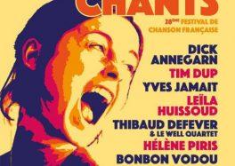 28e édition À travers Chants à la MJC de Saint-Saulve 2021