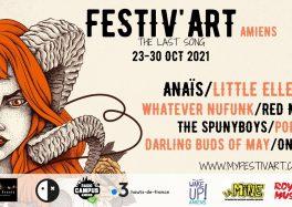 Festiv'art Amiens The Last Song du 23-30 Octobre 2021